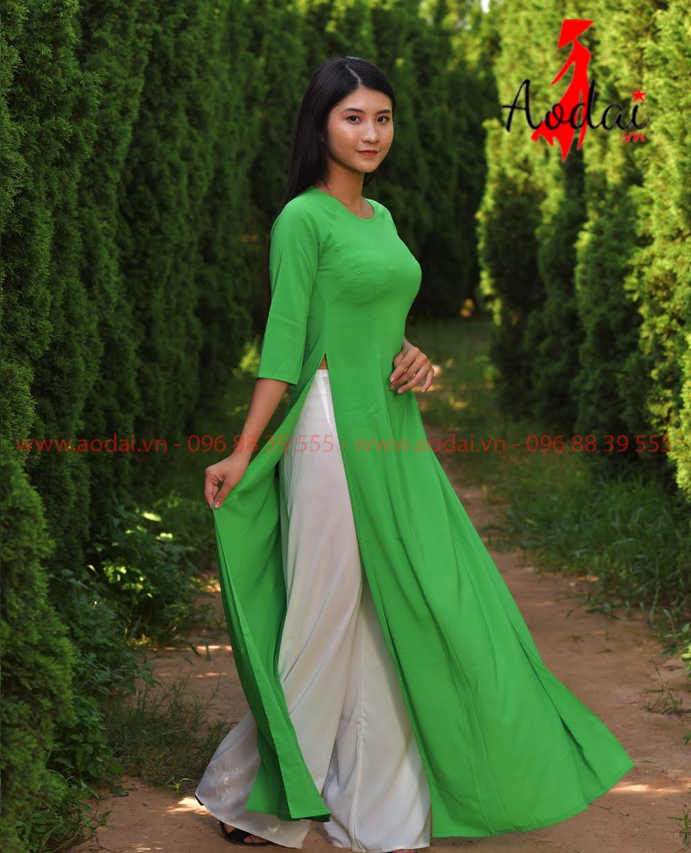 May áo dài tại Bắc Giang