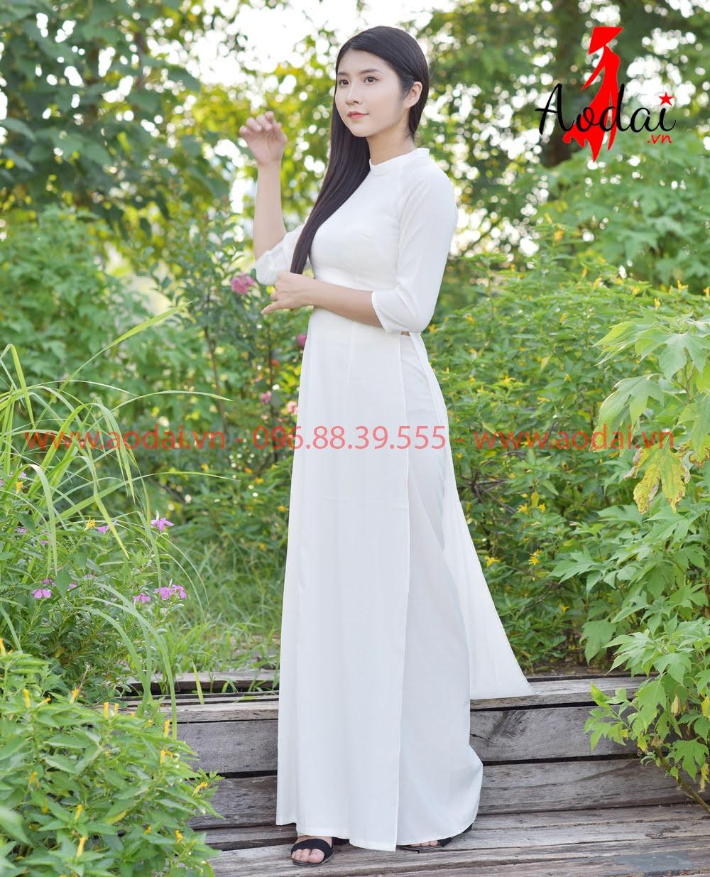 In áo dài tại Bình Chánh