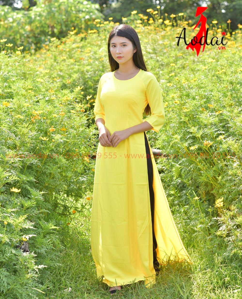 In áo dài tại Bình Định