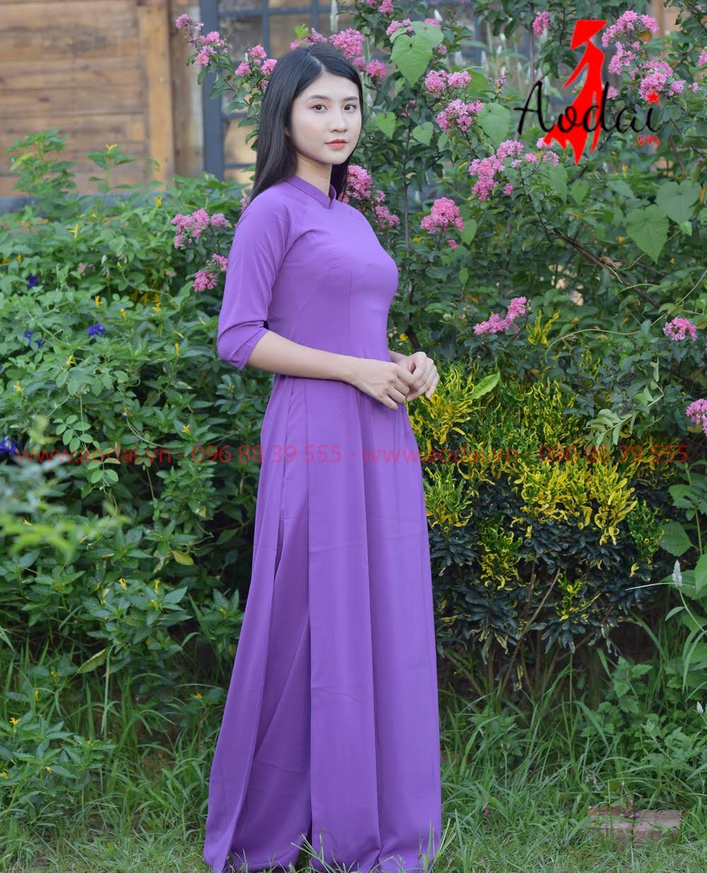 In áo dài tại Cao Bằng