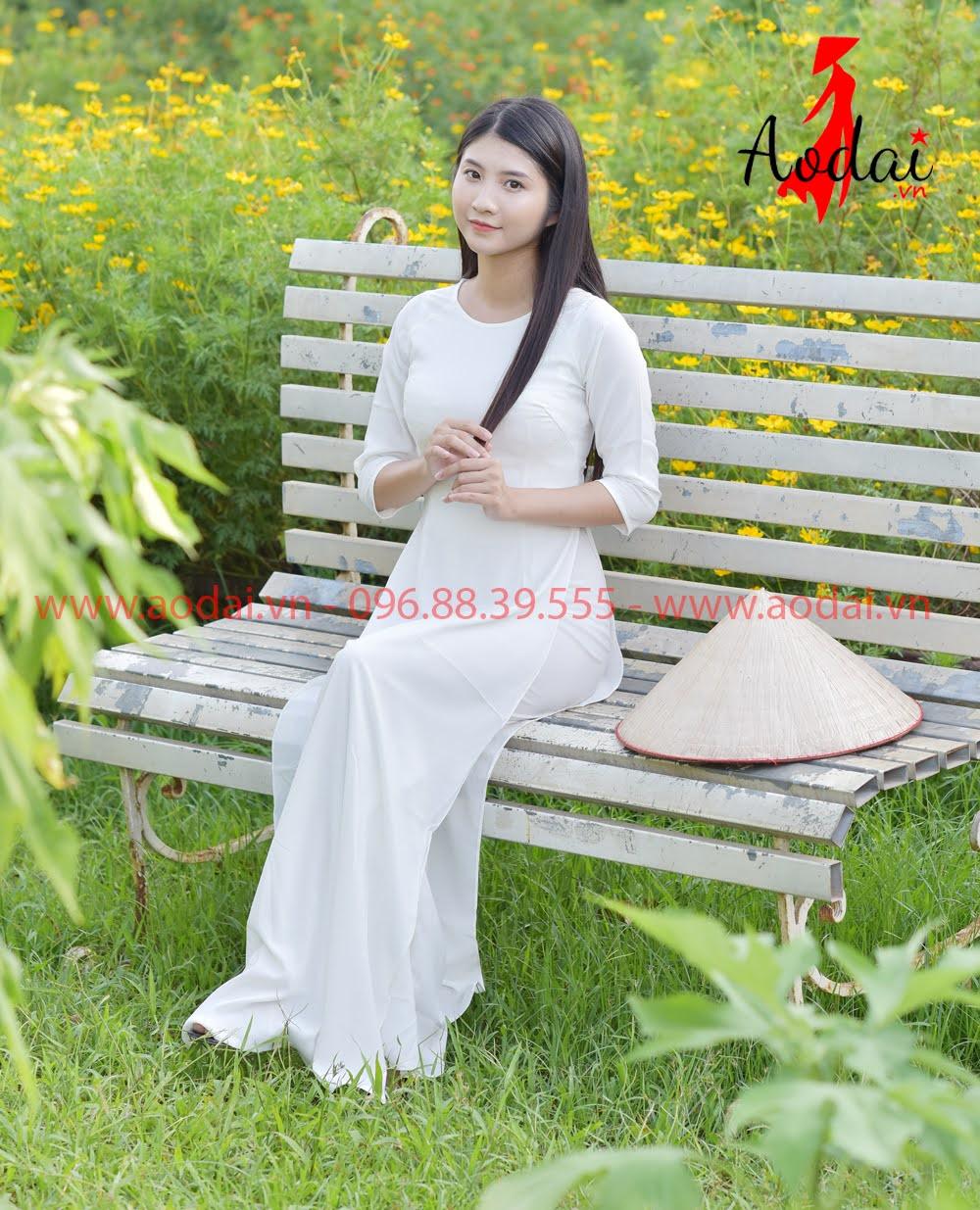 In áo dài tại Hà Nôi