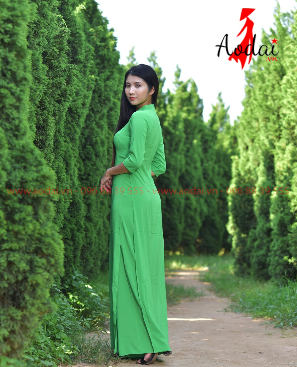 In áo dài tại Lâm Đồng