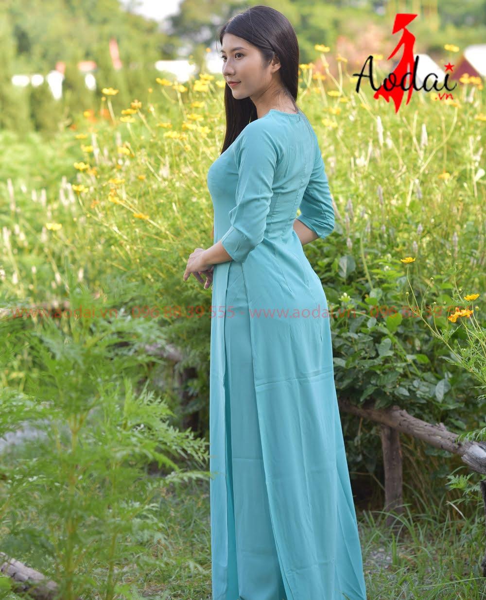 In áo dài tại Lào Cai