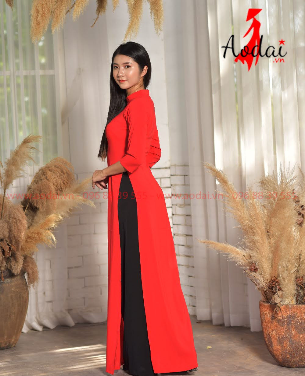 In áo dài tại Ninh Bình
