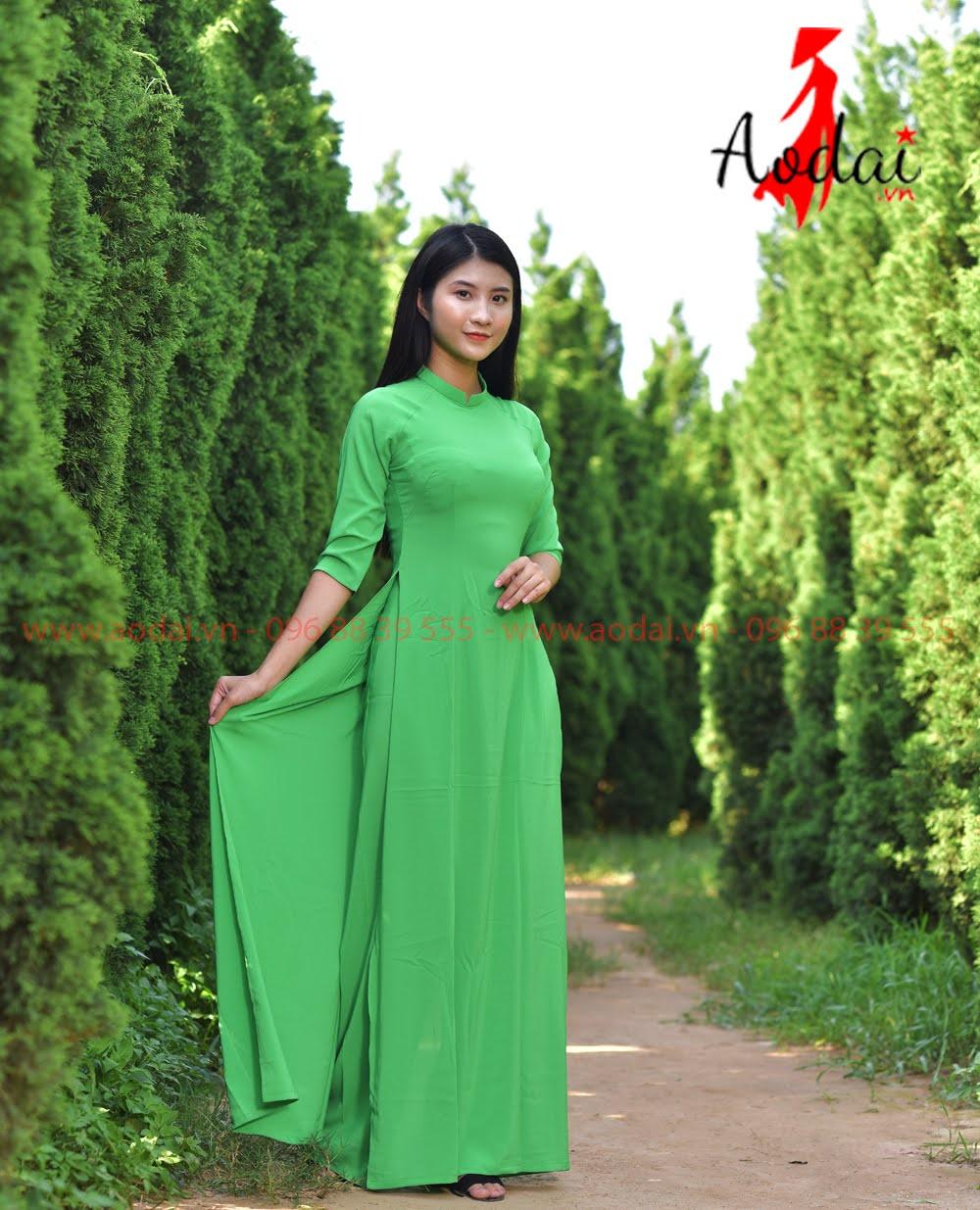 In áo dài tại Ninh Thuận