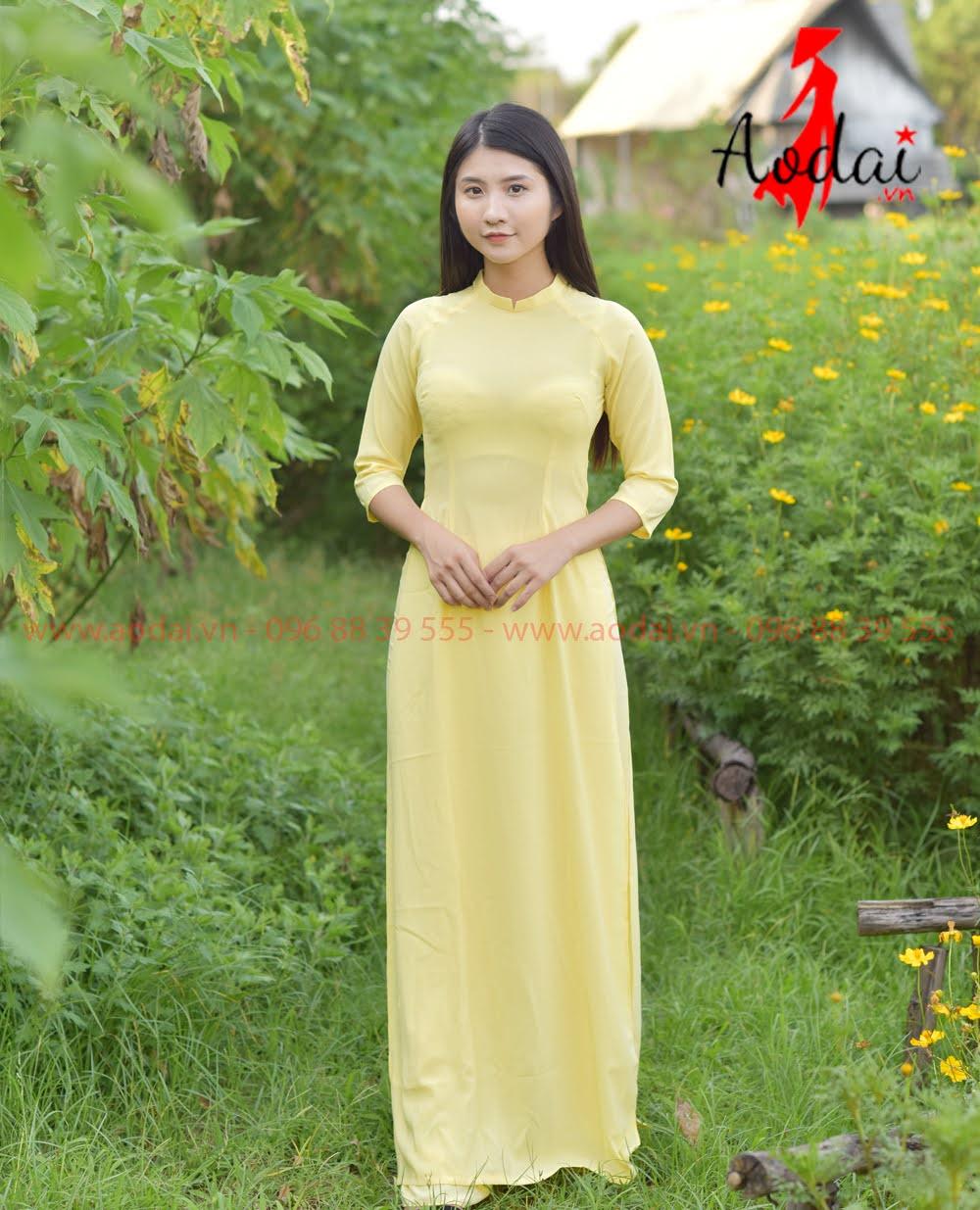 In áo dài tại Quảng Nam