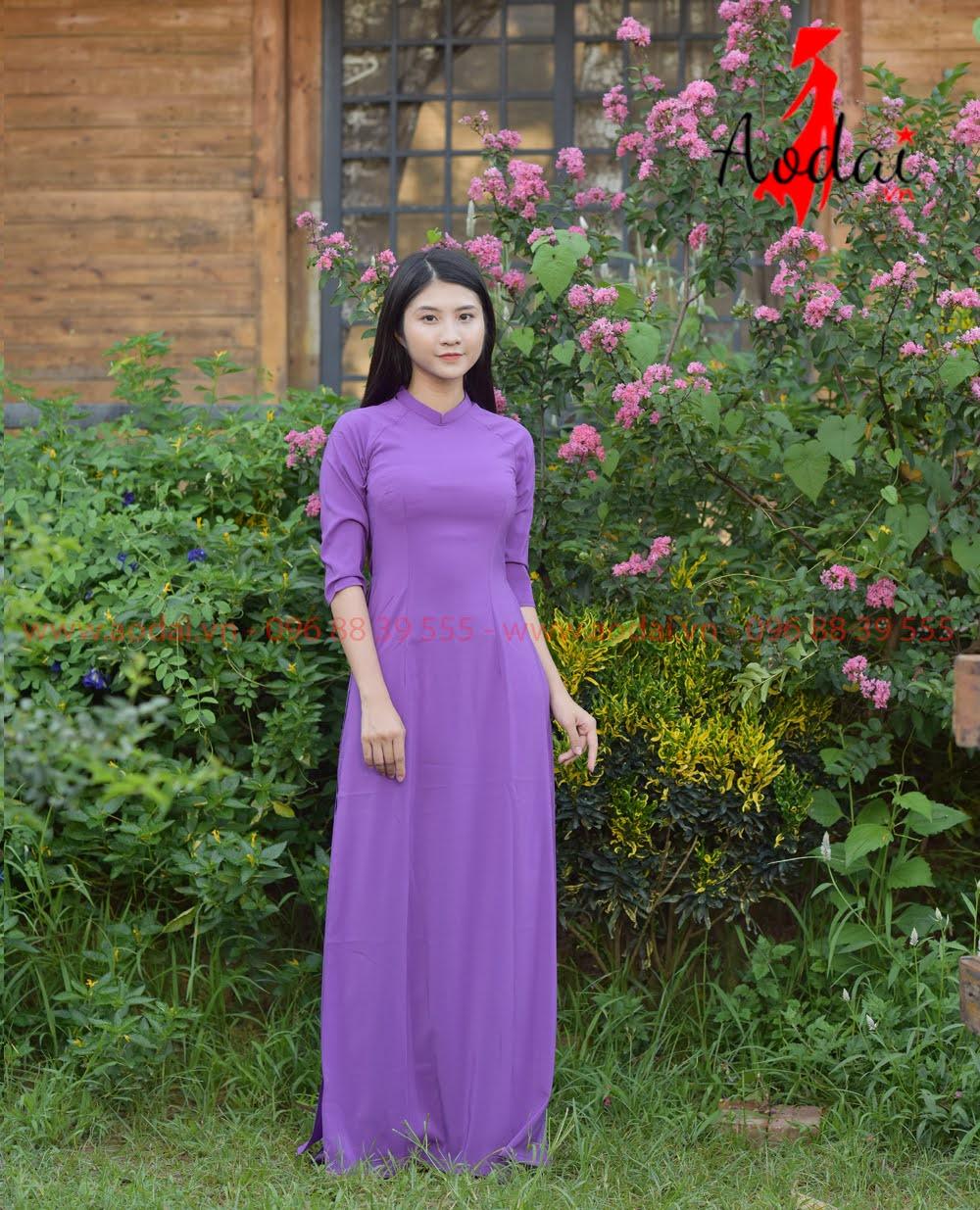 In áo dài tại Quảng Trị