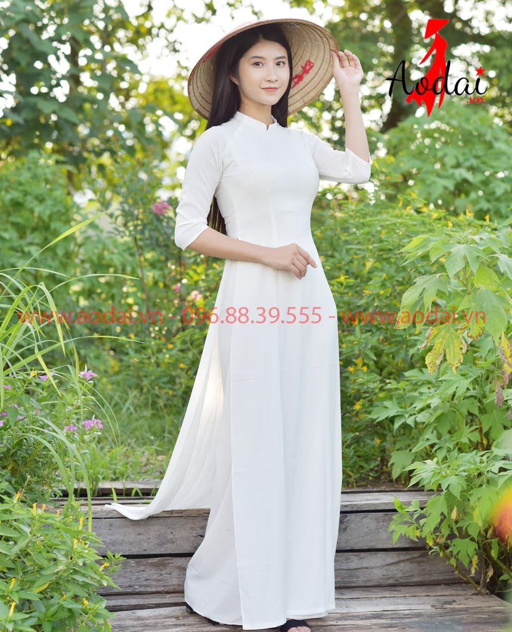 In áo dài tại Sóc Sơn
