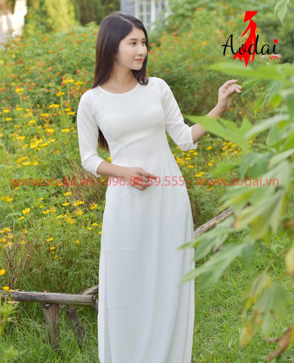 In áo dài tại Sơn La
