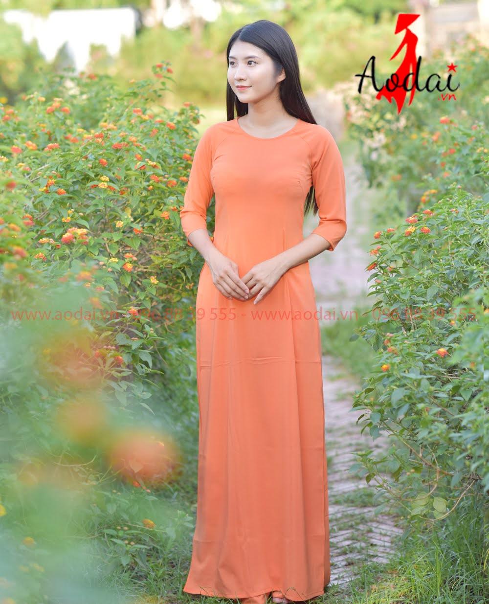 In áo dài tại Thanh Xuân