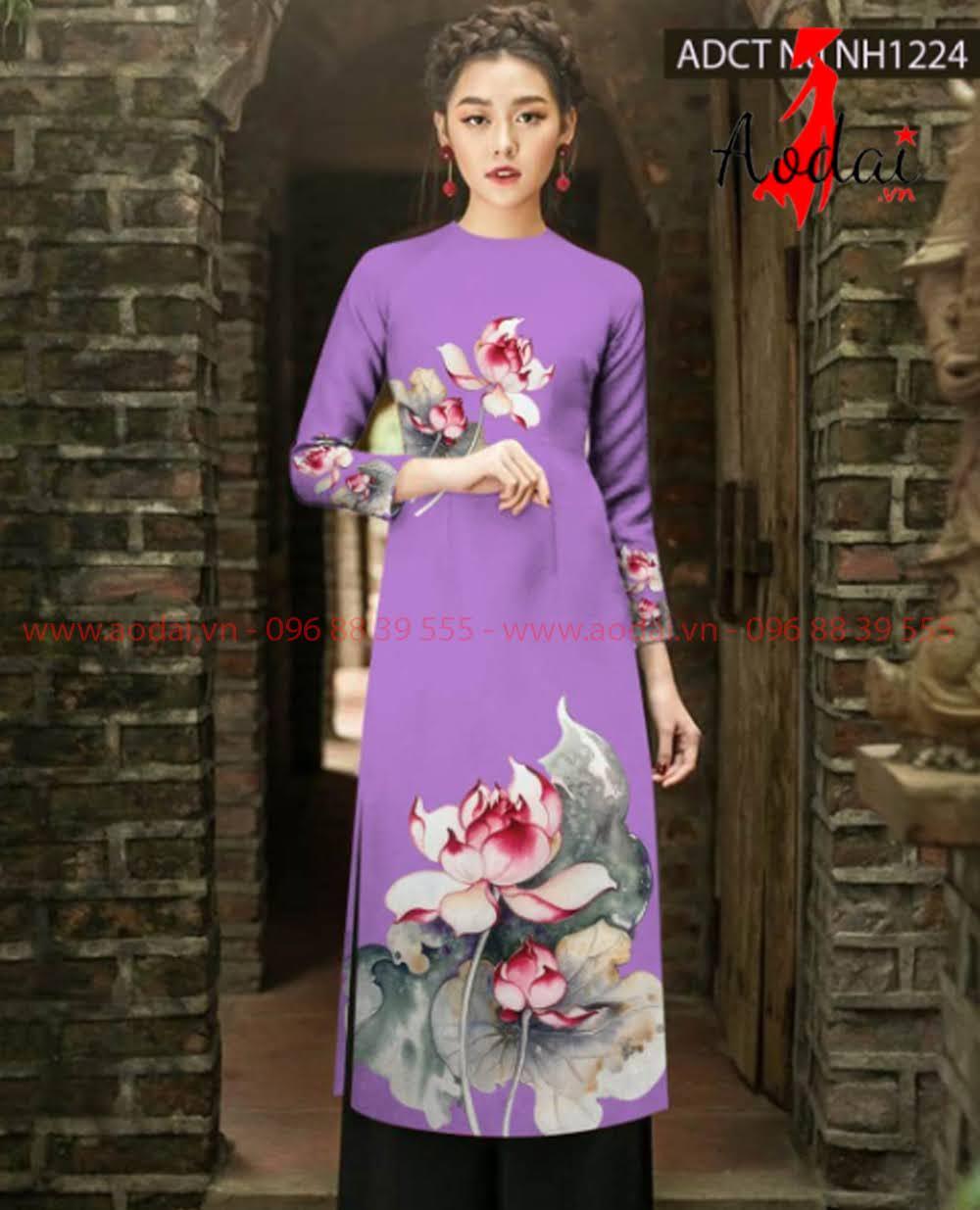 In áo dài tại Tiền Giang