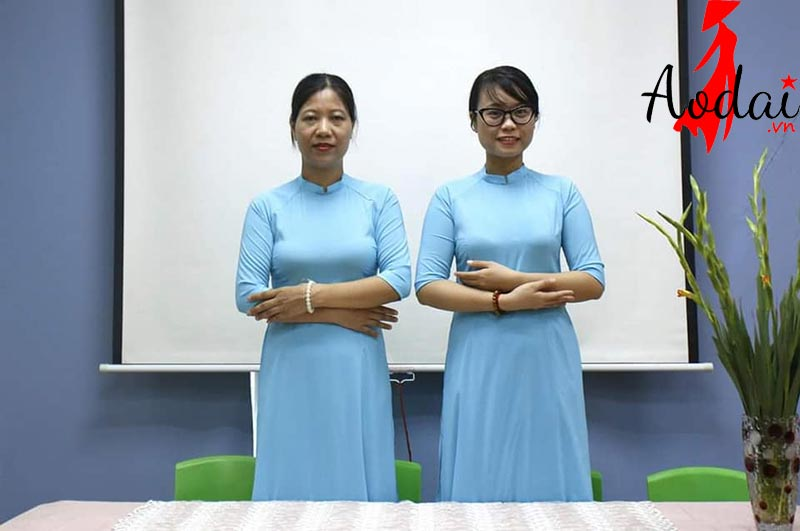 Áo dài giáo viên trường Mầm non Khai Trí | Ao dai giao vien mam non