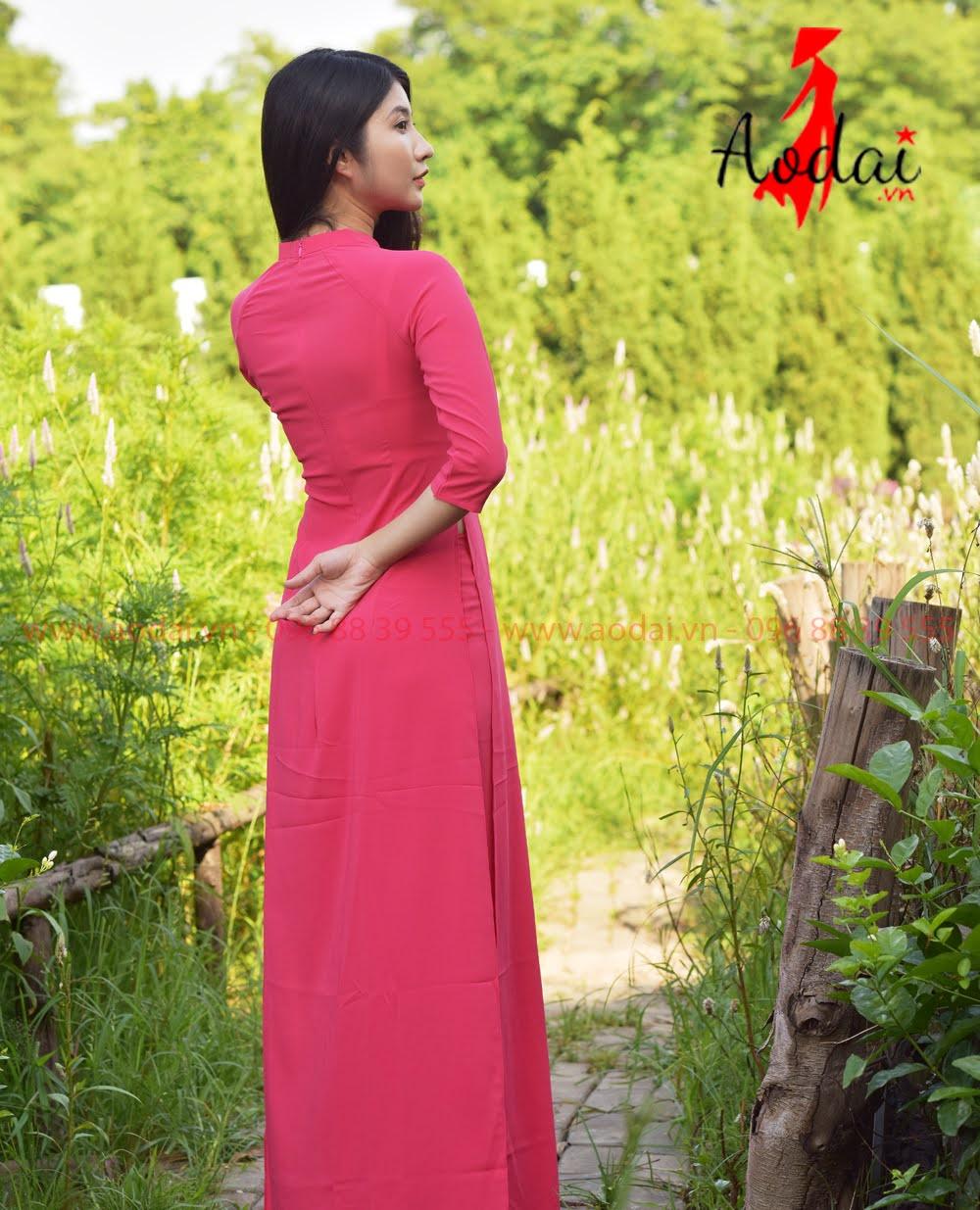 May áo dài tại Bình Chánh