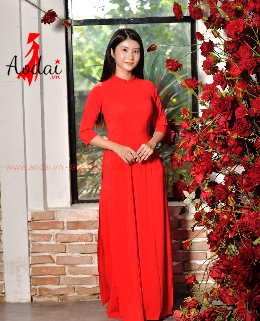 May áo dài tại Bình Định
