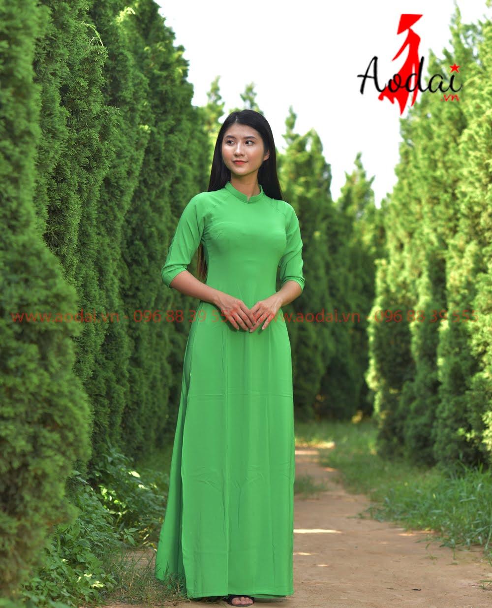 May áo dài tại Bình Phước