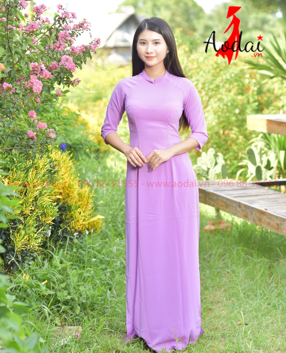May áo dài tại Bình Thuận