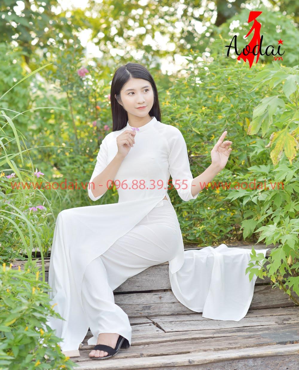 May áo dài tại Nghệ An