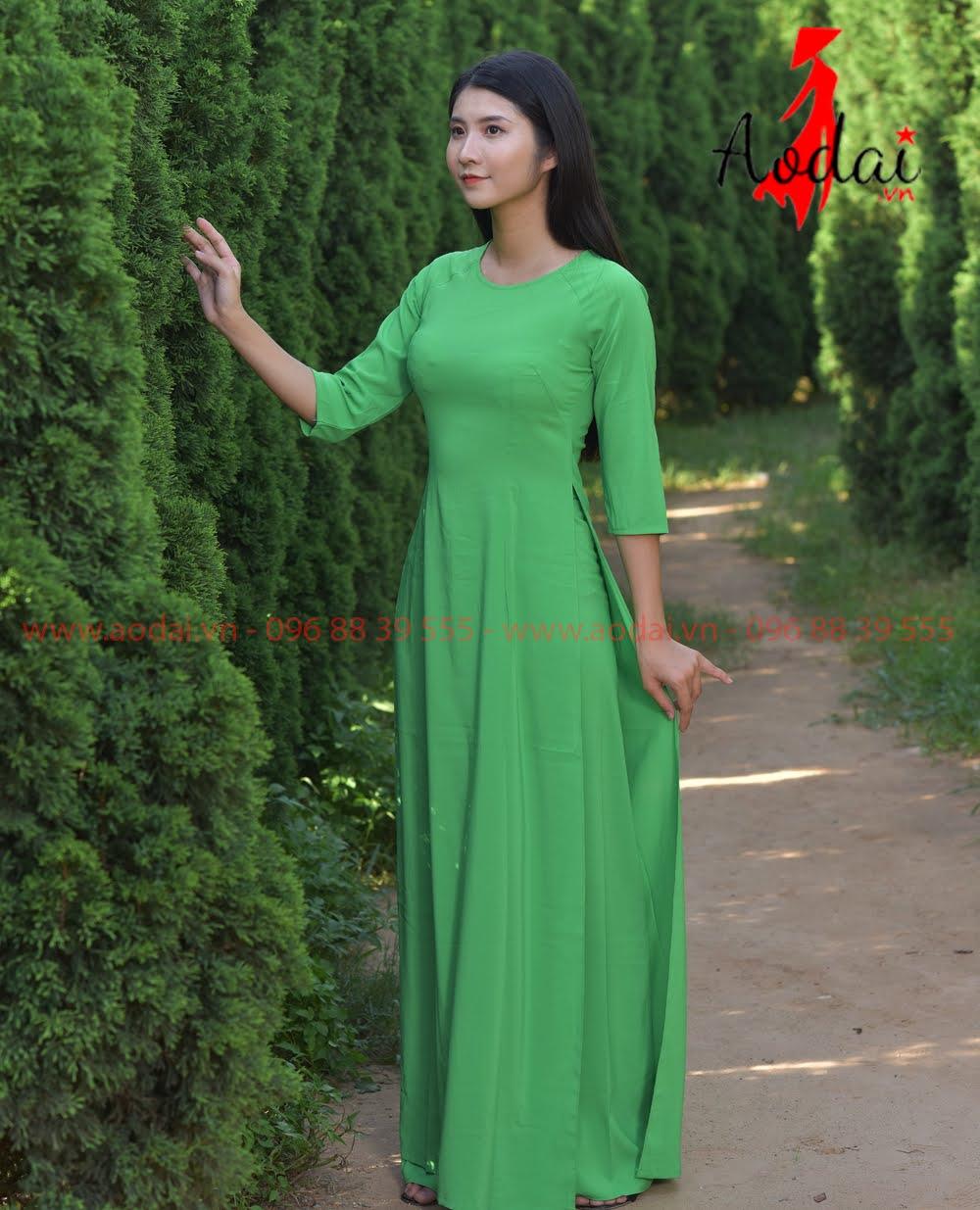 May áo dài tại Phú Xuyên