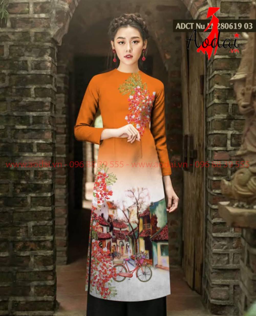 May áo dài tại Phú Yên