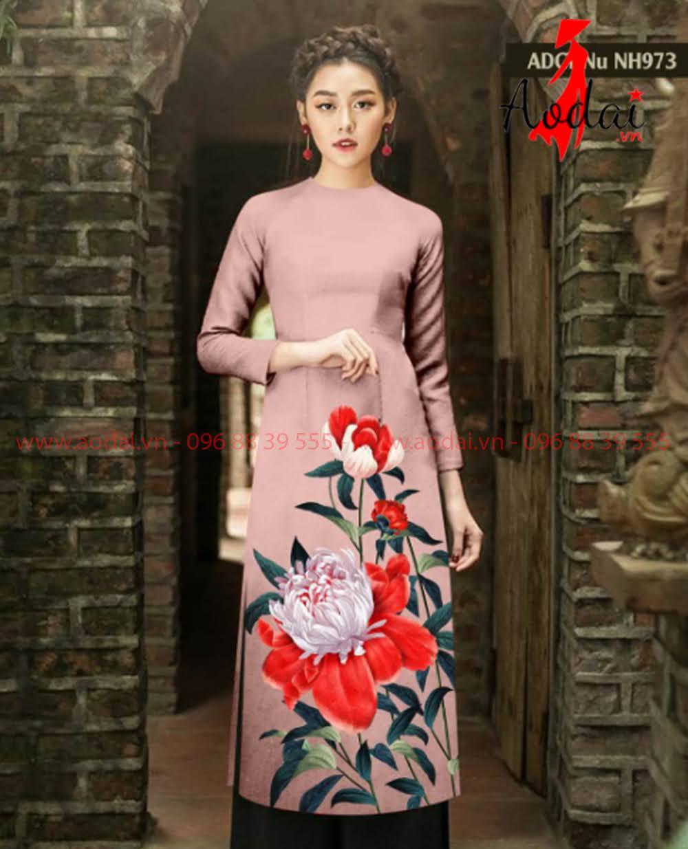 May áo dài tại Sơn La