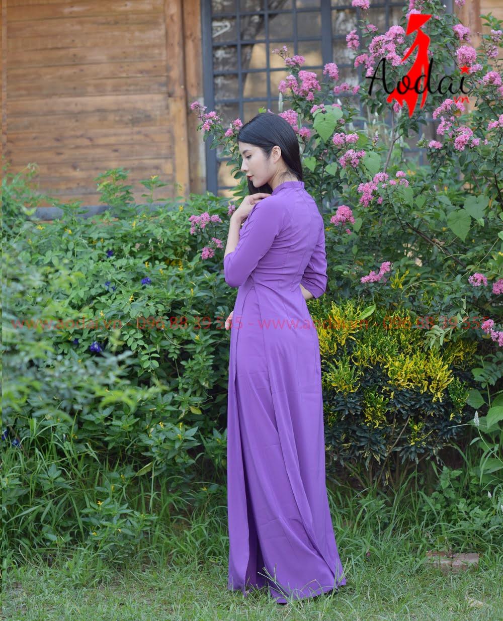 May áo dài tại Tây Ninh