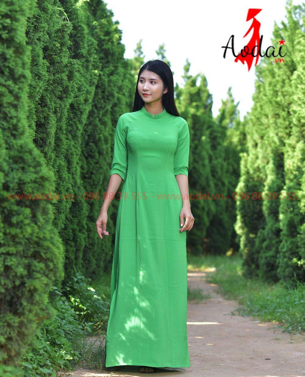 May áo dài tại Thừa Thiên Huế