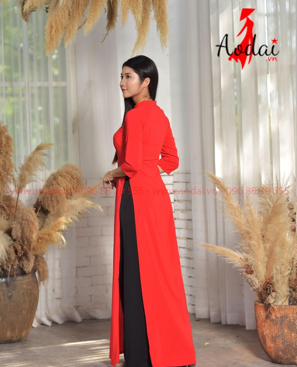 May áo dài tại Yên Bái